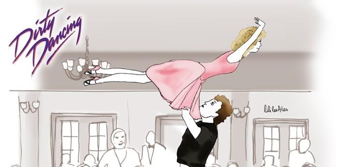 Dirty Dancing par Lilie les Ailes pour Just One Day