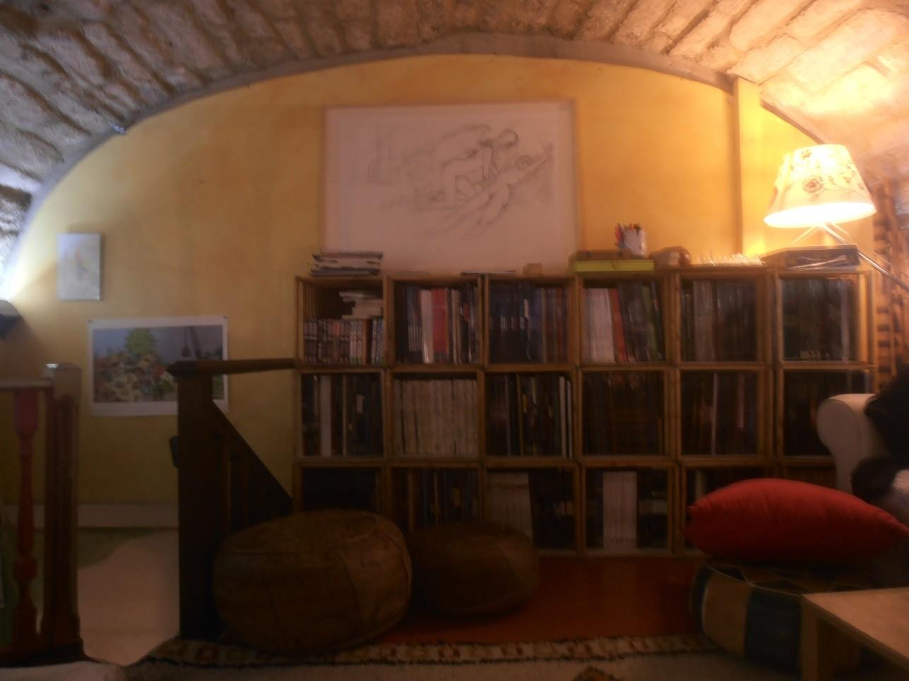 la mezzanine un salon de th part. Black Bedroom Furniture Sets. Home Design Ideas