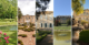 demeures bourgeoises avec jardins attenants